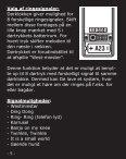 Trådløs dørklokke i elegant aluminium Model 32320 - L-Team - Page 5