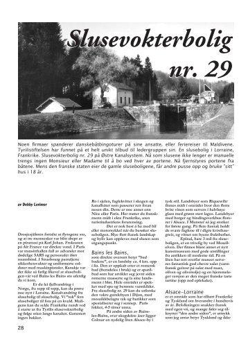 Slusevokterbolig nr. 29 - Tyristikka