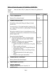 Referat fra bestyrelsesmøde d. 8/9-2011 - Grundejerforeningen ...