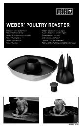 WEBER® POULTRY ROASTER - Fonq.nl