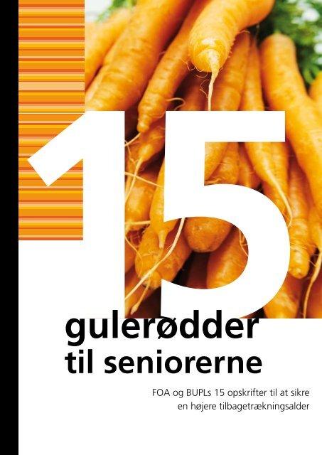 """Se pjecen """"15 gulerødder til seniorerne - Bupl"""