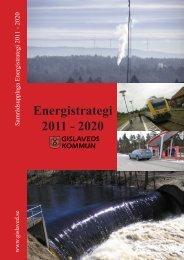 Energistrategi 2011 - 2020 - Gislaveds kommun