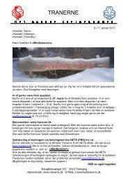 Nyhedsbrev 2011-1.pdf - Tranerne