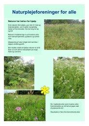 Naturplejeforeninger for alle - Danmarks Naturfredningsforening