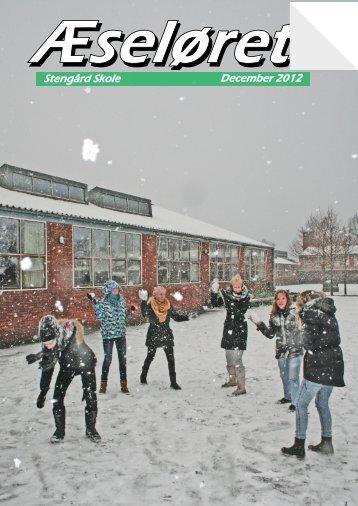 December 2012 Stengård Skole - Stengård Skoles hjemmenside