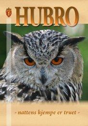 Brosjyre om hubro - Norsk Ornitologisk Forening