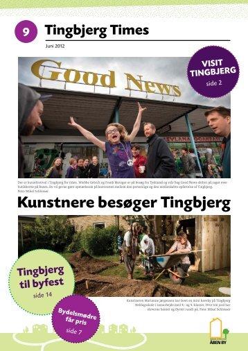 Kunstnere besøger Tingbjerg - Tingbjerg Forum