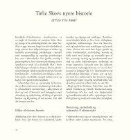 Tofte Skovs nyere historie - Aage V. Jensens Fonde
