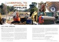 LIVERPOOL TO ASHFIELD PIPELINE - Ancr.com.au