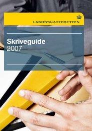 Skriveguide 2007 - Landsskatteretten