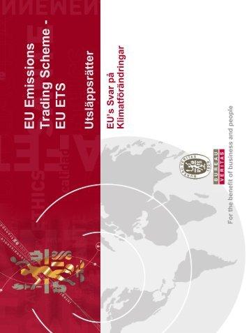EU ETS - Till Startsidan - Certification.BureauVeritas.se