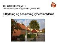 Se præsentation - Statens Byggeforskningsinstitut