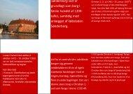 Sønderborg Slot er grundlagt som borg i første halvdel af 1200- tallet ...