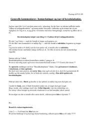 Gen bemærk til sagen (pdf) - Dagsordener og beslutninger 2013