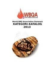 KATEGORI-KATALOG 2013 - DM i Grill