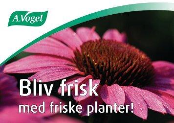 med friske planter! - A.Vogel