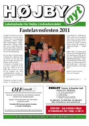 Fastelavnsfesten 2011 - Højby Nyt