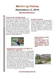 Nyhedsbrev 2, 2010 - Brøndby Strand