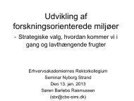 Søren Barlebo Rasmussen - Danske Erhvervsakademier