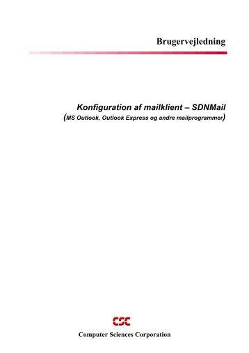 Konfiguration-af-mailklient fx Outlook - CSC