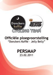 Donckers Koffie – Jelly Belly - Credo bvba