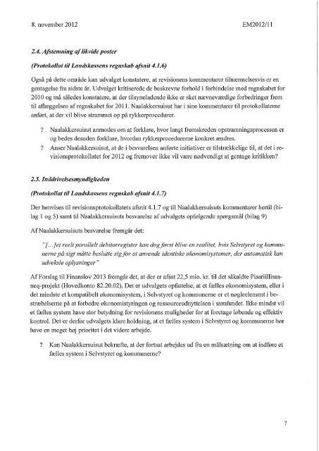 Betænkning 2. beh. med bilag - Inatsisartut