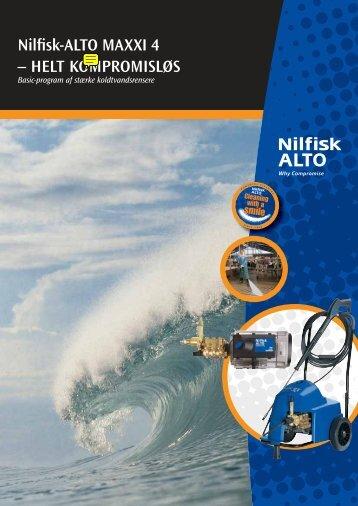 Nilfisk-ALTO MAXXI 4 – HELT KOMPROMISLØS
