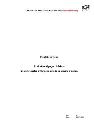 Arkitekturklyngen i Ã…rhus - Rum - Arkitektskolen Aarhus