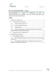 EL: Kvartalsstatistik – amu - EVU