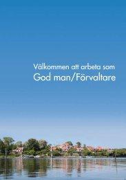 God man/Förvaltare - Karlskrona kommun