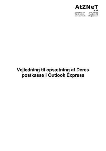 Outlook Express opsætning - ATZnet