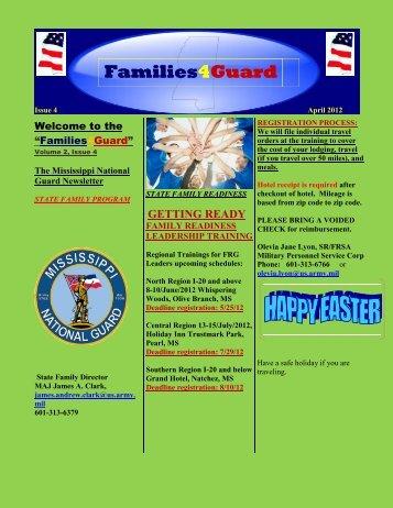 Newsletter - Apr 2012 - Mississippi National Guard