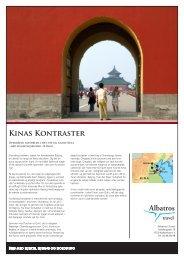 Kinas Kontraster, priser fra 13.990 - Albatros Travel