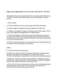 TCC-DK Salgs og leveringsbetingelser - The Color Club