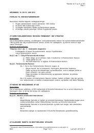 Vedtægtsændringer fra Bestyrelsen - Mellemfolkeligt Samvirke