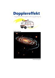 Dopplereffekt - matematikfysik