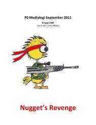 Nugget's Revenge - Gustav Dahl Game Design Portfolio