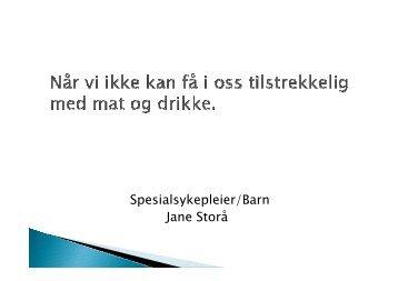 Jane - Når vi ikke kan få i oss tilstrekkelig (5MB)