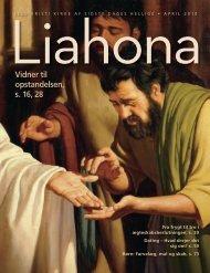 April 2010 Liahona - Jesu Kristi Kirke af Sidste Dages Hellige