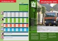 Afvalkalender 2010 - GISnet