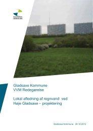 KPT VVM - Høje Gladsaxe Park.indd - Gladsaxe Kommune