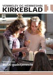 Kirkeblad nr. 1: December 2012 - februar 2013 - Vemmelev og ...