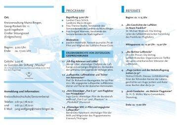 REFERATE PROGRAMM - bei Joachim Mahrholdt