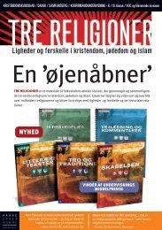 Brochure om lærebogssystemet Tre Religioner