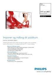 BDL4681XU/00 Philips LCD-skærm - MWSquared