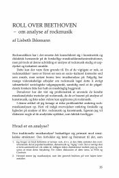 Lisbeth Ihlemann - dansk musikforskning online