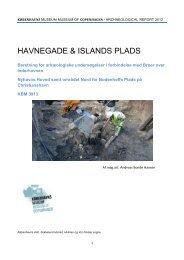 HAVNEGADE & ISLANDS PLADS - Københavns Museum