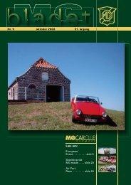Læs om: European Event. . . . . . . . . side 5 Skandinavisk MG møde ...