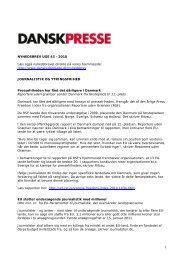 Nyhedsbrevet Dansk Presse nr. 43 - Danske Dagblades Forening