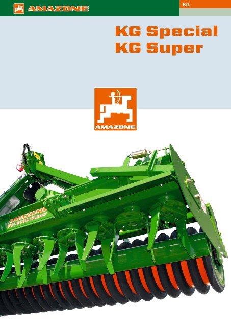 KG Special KG Super - Forside - Brøns Maskinforretning